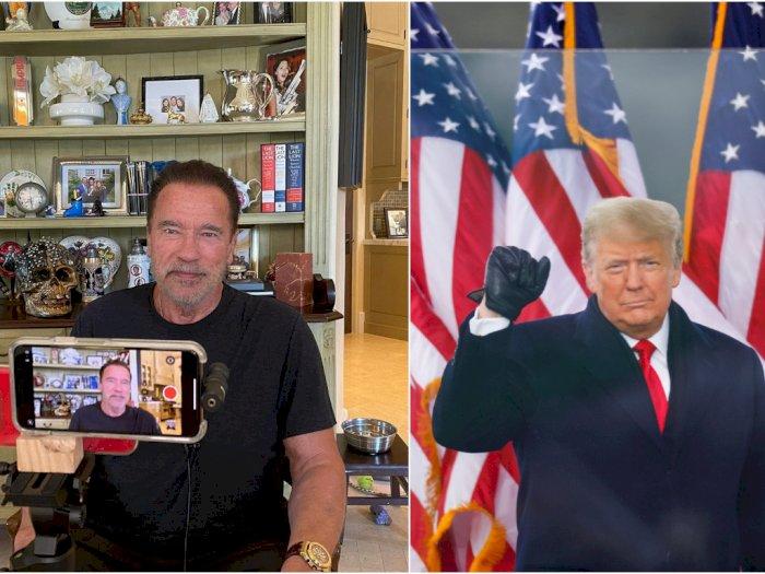 Kritik Donald Trump, Arnold Schwarzenegger: Dia Presiden Terburuk