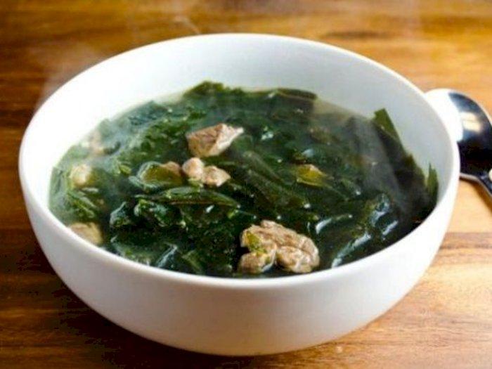 Resep Sup Rumput Laut Ala Korea
