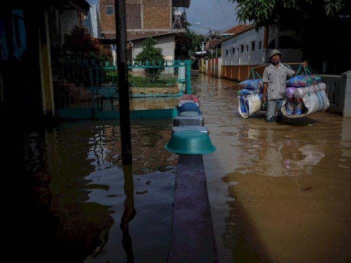FOTO: Banjir Akibat Luapan Sungai Citarum