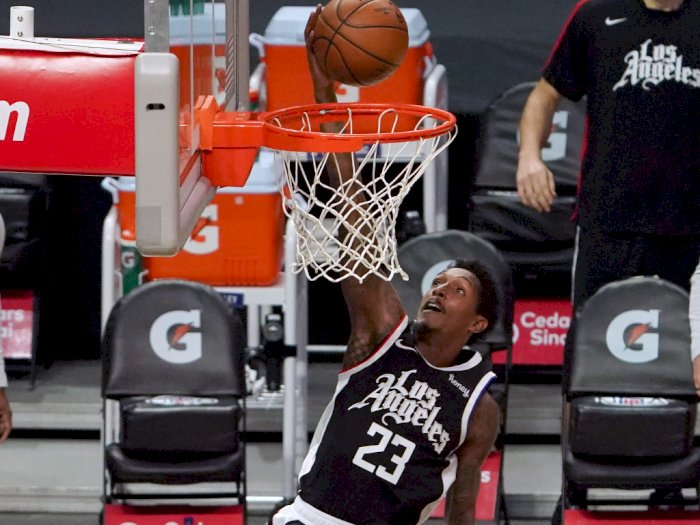 FOTO: Kawhi Leonard Pimpin Clippers Kalahkan Bulls 130-127