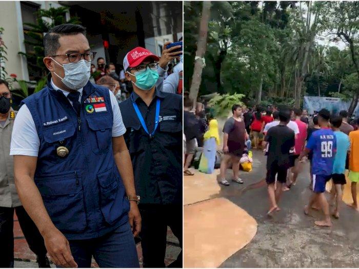 Viral Kerumunan di Waterboom Cikarang, Ridwan Kamil Lakukan Penutupan