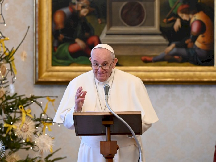Paus Fransiskus Bakal Disuntik Vaksin Covid-19