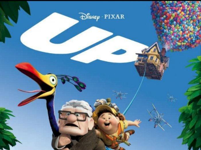 Sinopsis 'Up' (2009) - Kisah Perjalanan Carl ke Paradise Fall