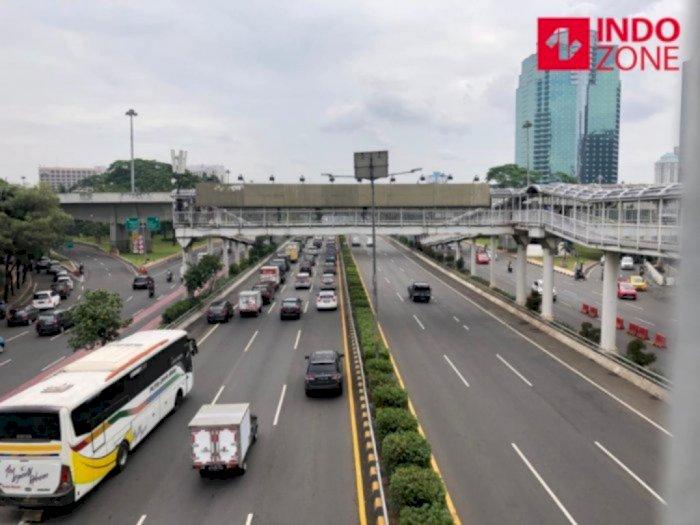 Padatnya Jalanan Jakarta di Hari Pertama PSBB Ketat Dinilai Bukan Berarti Pelanggaran