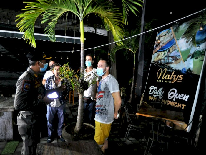 FOTO: Sidak Penerapan PPKM di Bali