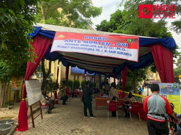 Hari ke-4 Evakuasi SJ182, Polri Terima 72 Kantong Jenazah dan 111 DNA Keluarga Korban