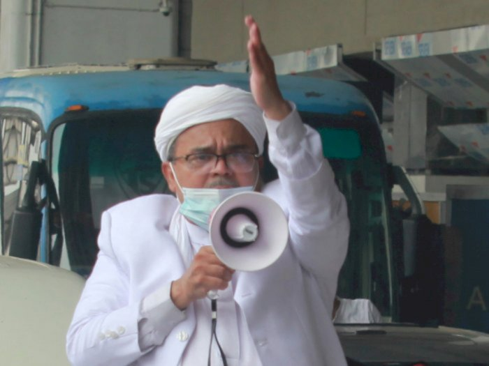 Rizieq Ternyata Positif Covid-19 Saat di RS Ummi, Bareskrim: Bohong Sehat Walafiat