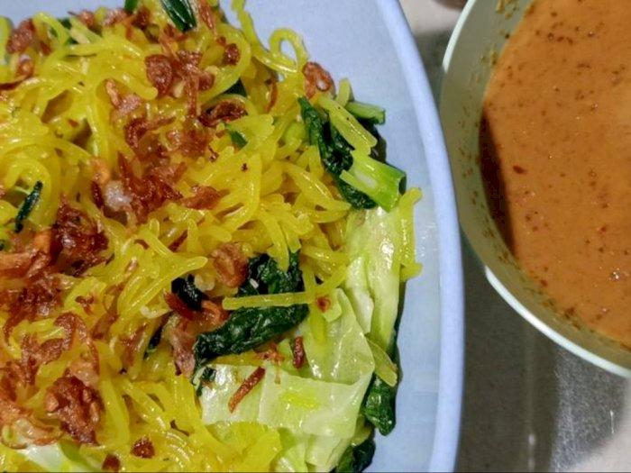 Makan Malam Pakai Mie Glosor, Hidangan Khas Bogor