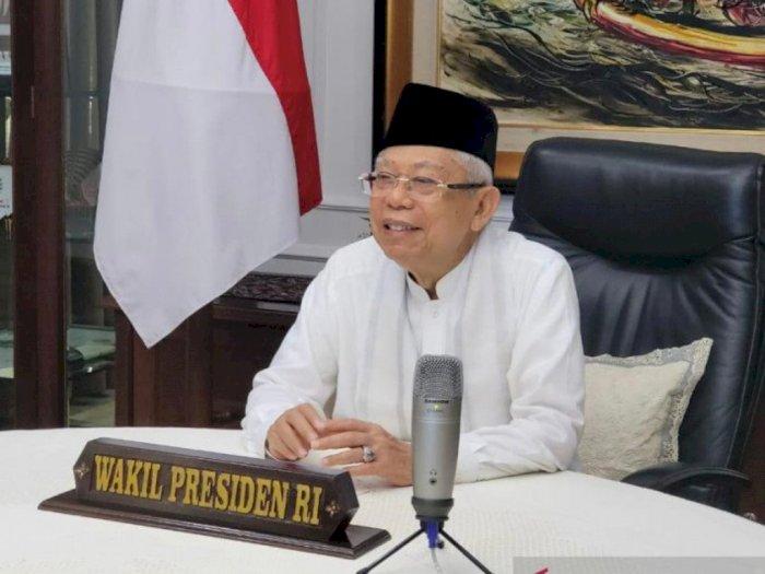 Wapres Ma'ruf Amin Ajak Qatar untuk Investasi Industri Halal di Indonesia