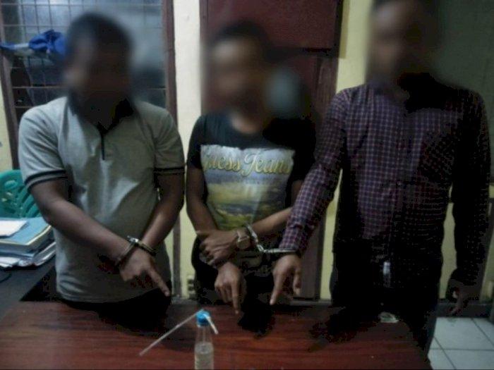 Tengah Isap Sabu Bareng-bareng, Tiga Pemuda di Simalungun Diciduk di Dalam Rumah