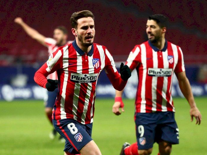 FOTO: Liga Spanyol, Atletico Madrid Kalahkan Sevilla 2-0