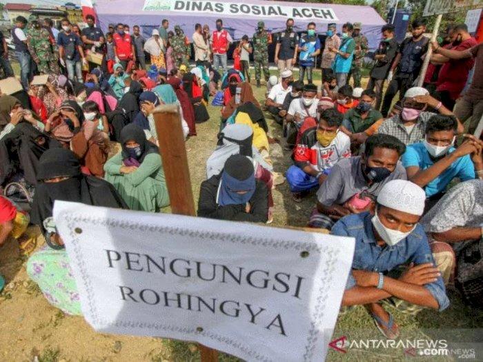 249 Imigran Rohingya Kabur dari Penampungan Balai Latihan Kerja di Aceh