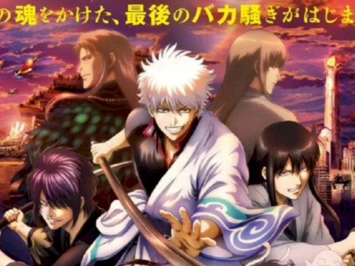 Film Animasi 'Gintama: The Final' Menjuarai Box Office di Jepang, Kalahkan 'Demon Slayer'
