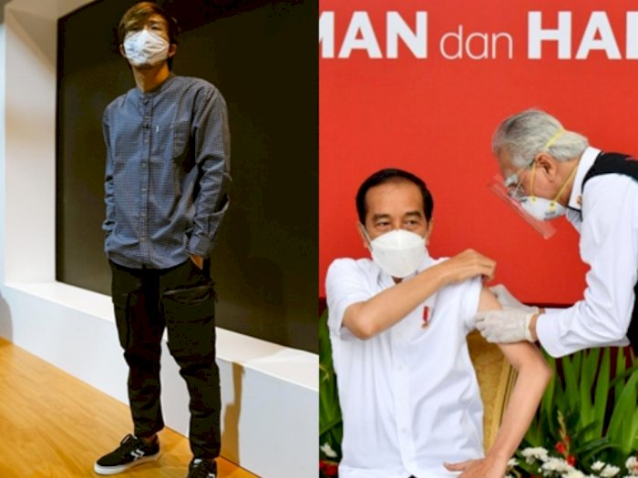 Presiden Jokowi Divaksin, dr. Tirta: Vaksin Pakde Sama dengan yang Diterima Rakyat, Gratis