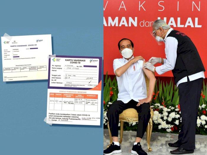Reaksi Tubuh Presiden Jokowi Usai Disuntik Vaksin Covid-19: Hanya Sedikit Pegal