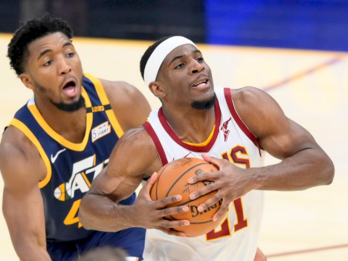FOTO: Utah Jazz Kalahkan Cleveland Cavaliers 117-87