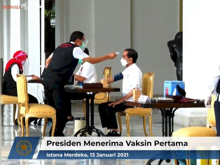 Percakapan Proses Vaksinasi Presiden, Terungkap Jokowi Tidak Pernah Terpapar COVID-19