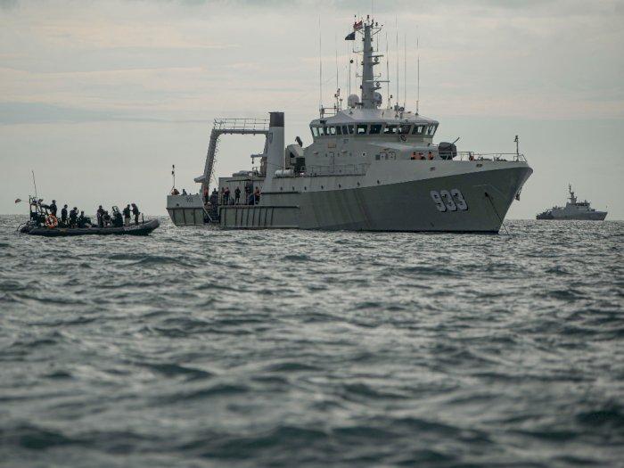 Pasukan Elit TNI AL Lanjutkan Pencarian CVR Sriwijaya Air