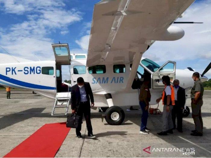 Keamanan Tak Terjamin, Sam Air Larang Penerbangan ke Daerah Rawan Papua