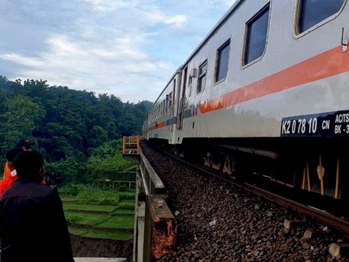 Imbas Jembatan Roboh, KAI Berlakukan Jalur Tunggal di Lintas Linggapura-Bumiayu
