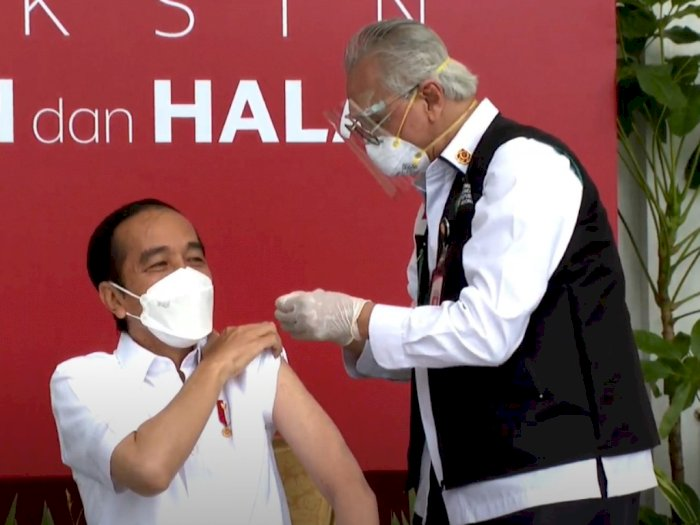 Menyuntik Vaksin Pertama ke Presiden Jokowi, Dokter Ini Akui Sempat Gemetar