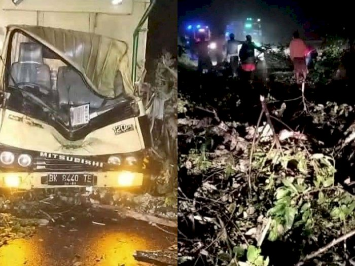 Kembali Terjadi Longsor di Jalan Medan-Berastagi, Seorang Penumpang Truk Tewas