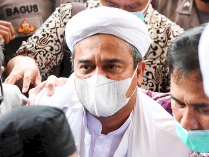 Berkas Kasus Kerumunan Habib Rizieq Lengkap, Polri Serahkan ke Jaksa Besok