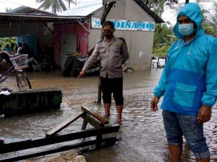 Bocah 3 Tahun Tewas Terseret Banjir, Tubuhnya Ditemukan di Dalam Parit