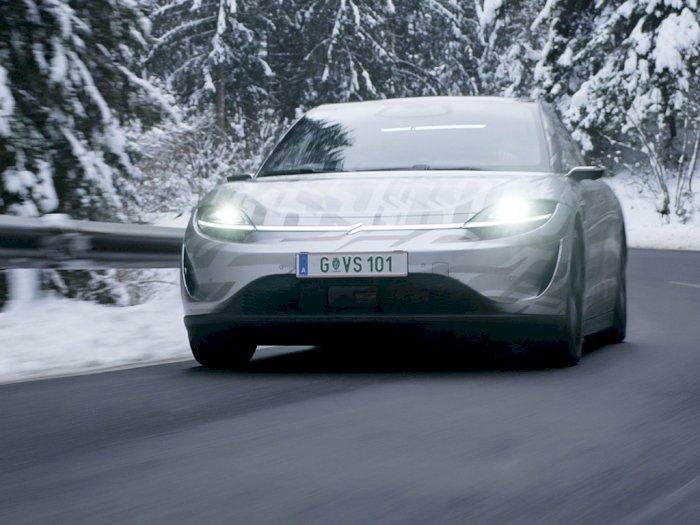 Sony Mulai Uji Jalan Mobil Listrik Barunya, Intip Fitur  Canggihnya!