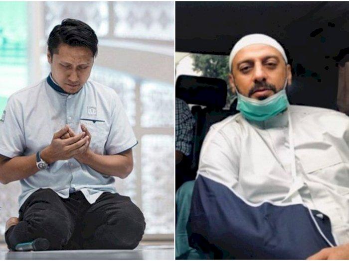 Arie Untung Nangis Dengar Pesan Suara Terakhir dari Syekh Ali Jaber: Hancur Banget Ni Hati