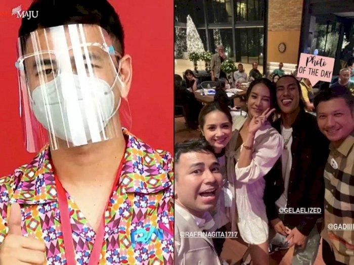 Dokter Reisa hingga Sherina Tegur Raffi Ahmad yang Berkerumun Tanpa Masker Usai Divaksin