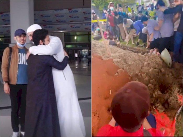 Ingin Lihat Syekh Ali Jaber Dimakamkan, Syakir Daulay Tinggalkan Lokasi Syuting