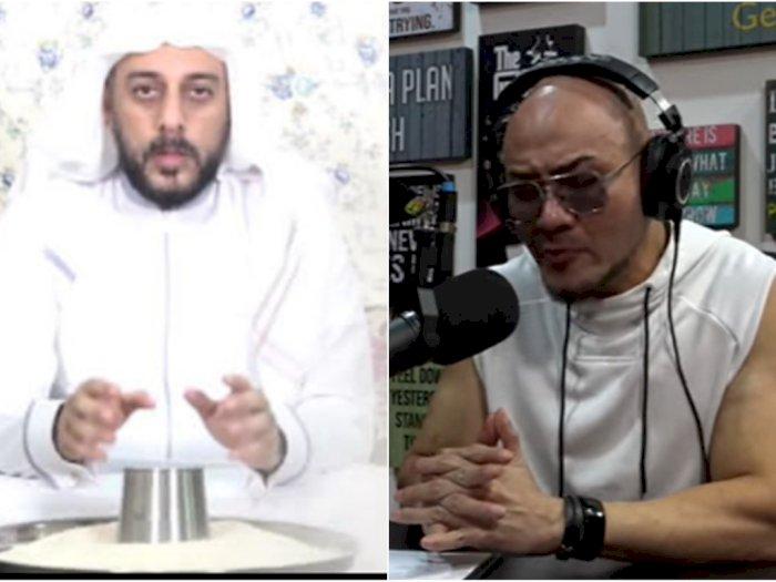 Deddy Corbuzier Menangis Kenang Kebaikan Hati Syekh Ali Jaber saat Ditusuk Pemuda