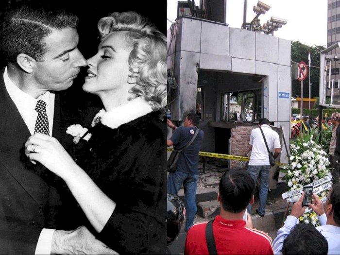 Peristiwa 14 Januari: Pernikahan Kedua Marilyn Monroe dan Teror Bom Sarinah