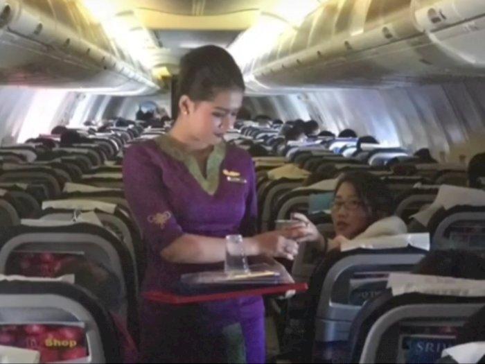 Sahabat Ungkap Pengalaman Terbang Bareng Pramugari Sriwijaya Air, Happy Landed in Heaven