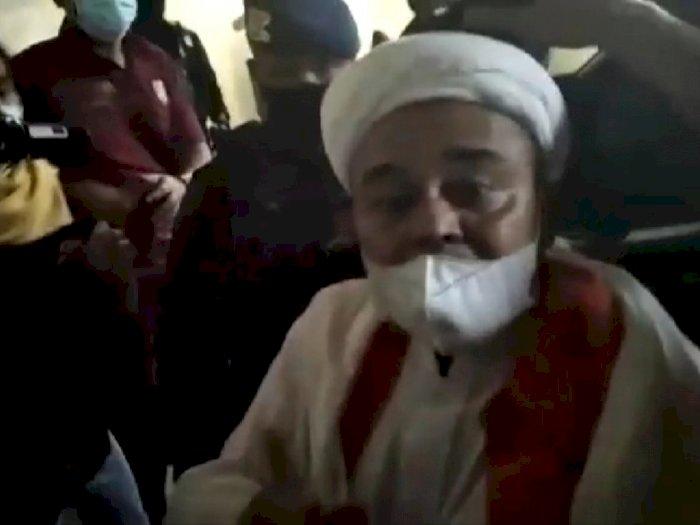Rizieq Shihab Sebut Kondisinya Baik dan Sehat