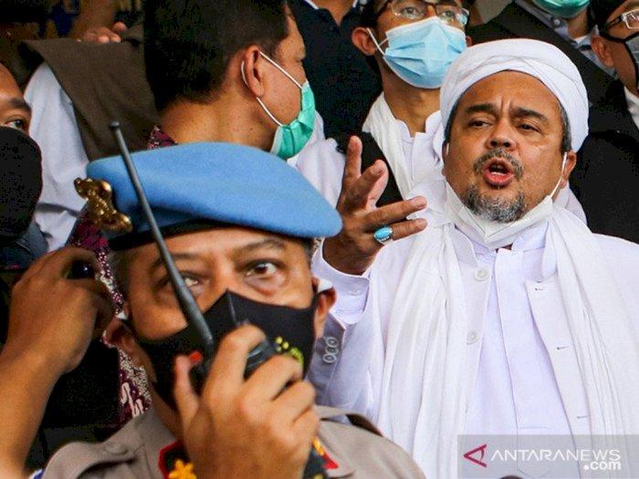 Habib Rizieq Shihab Pindah ke Rutan Bareskrim: Alhamdulillah Sehat, Santai Saja
