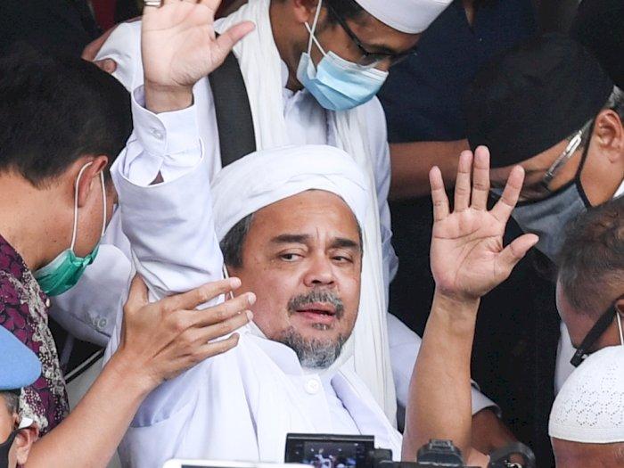 Polri Pindahkan Penahanan Habib Rizieq dari Rutan Polda Metro ke Bareskrim