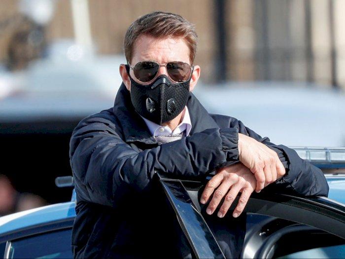 Tom Cruise Beli 2 Robot Pendeteksi Covid-19, Patroli di Lokasi Syuting Mission Impossible