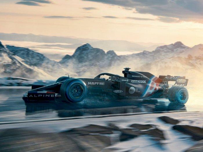 Pabrikan Alpine F1 Telah Meluncurkan Livery Terbaru, Ditujukan untuk 'Musim Dingin'