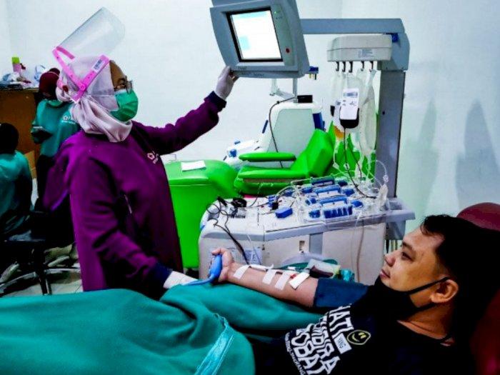PMI: Penerima Vaksin Covid-19 Tidak Boleh Langsung Donor Darah