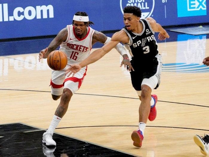 FOTO: Era Tanpa Harden, Rockets vs Spurs 109-105