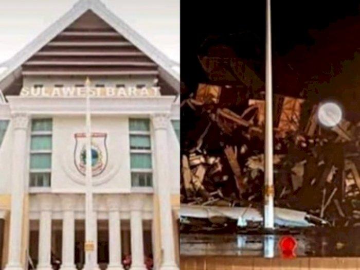 Video Kondisi Terkini Kantor Gubernur Sulawesi Barat Pascagempa Magnitudo 6,2