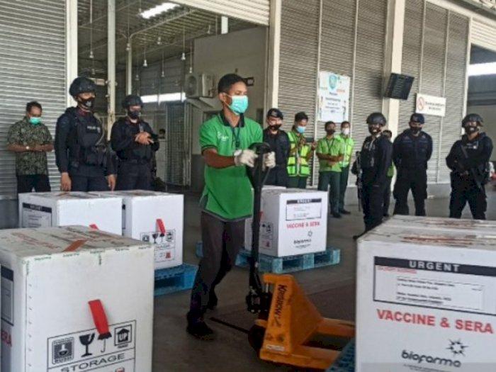 Tambahan 30 Ribuan Vaksin Covid-19 Tiba di Sumut, Selanjutnya Diedar ke 30 Kabupaten/Kota