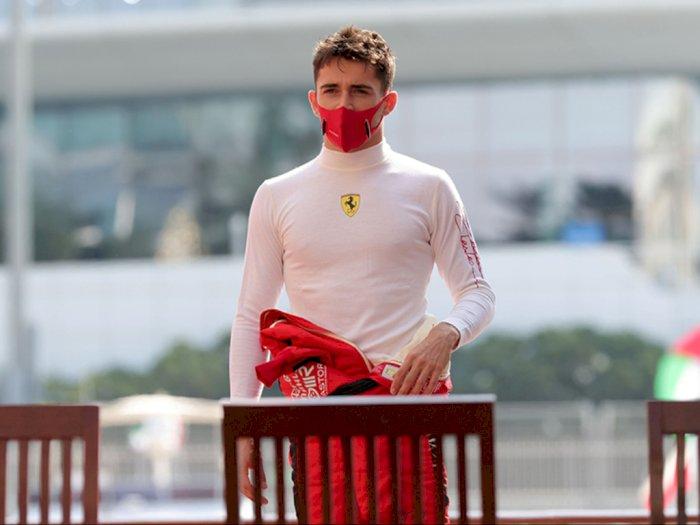 Pebalap Ferrari Charles Leclerc Dinyatakan Positif Covid-19, Alami Gejala Ringan