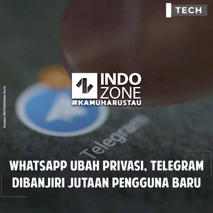 Whatsapp Ubah Privasi, Telegram Dibanjiri Jutaan Pengguna Baru