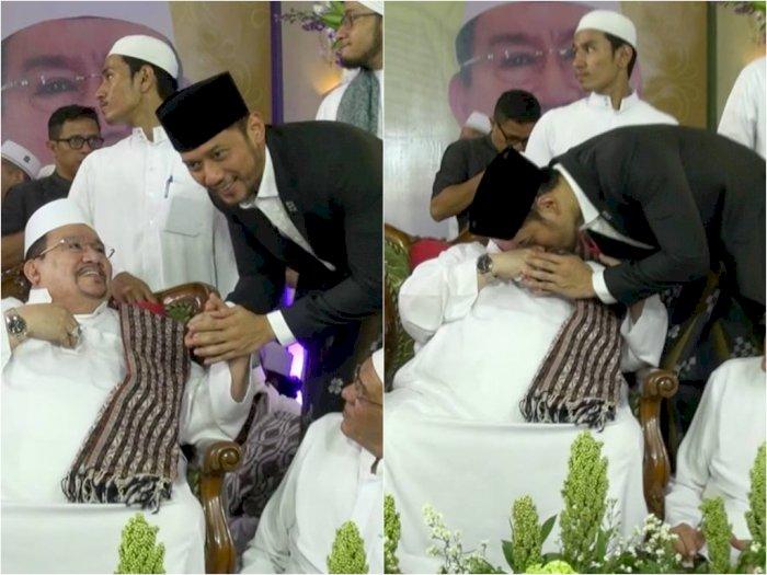Habib Ali bin Abdurrahman Assegaf Wafat,  Agus Harimurti Yudhoyono Ikut Berduka