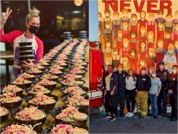 Salut! Restoran Pemenang 'Top Chef' ini Beri Makanan Gratis Kepada Garda Terdepan