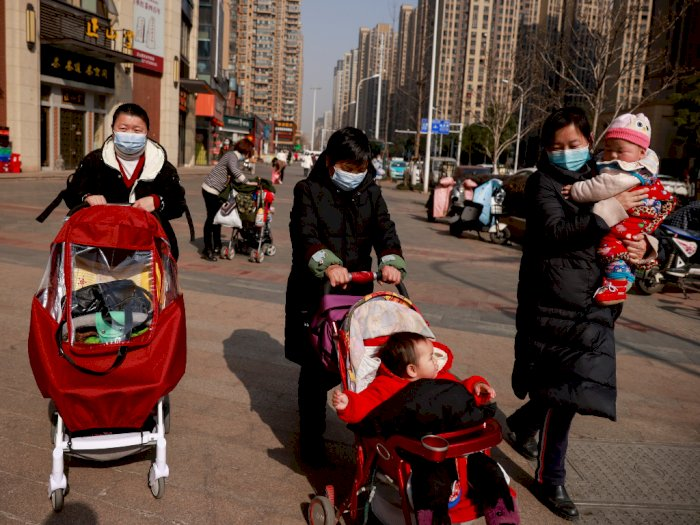 Tiongkok Laporkan Kasus Harian Covid-19 Tertinggi Sejak 10 Bulan