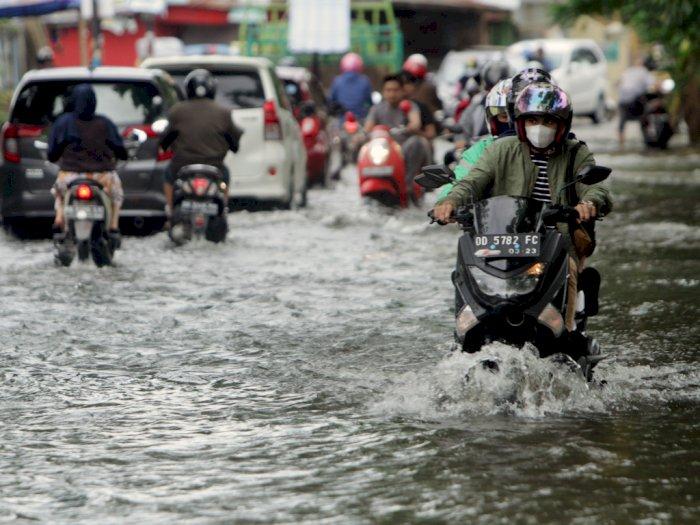 FOTO: Banjir di Makassar